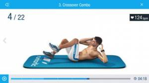 iPhone、iPadアプリ「Runtastic Six Pack 腹筋を割る筋トレアプリ」のスクリーンショット 2枚目
