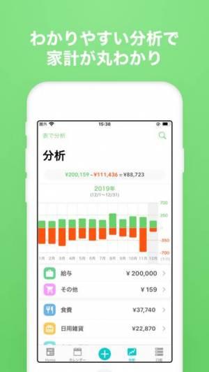 iPhone、iPadアプリ「家計簿 Dr.Wallet-人気の簡単家計簿(かけいぼ)」のスクリーンショット 3枚目