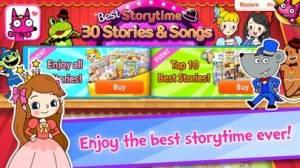 iPhone、iPadアプリ「Best Storytime: 30 Stories」のスクリーンショット 1枚目
