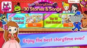 iPhone、iPadアプリ「Best Storytime: 30 Stories & Songs」のスクリーンショット 1枚目