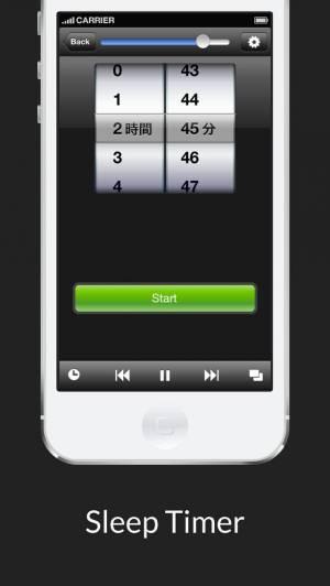 iPhone、iPadアプリ「隠しMP3プレイヤー」のスクリーンショット 5枚目
