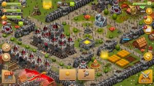 iPhone、iPadアプリ「Throne Rush」のスクリーンショット 2枚目