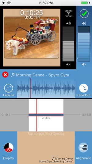 iPhone、iPadアプリ「正方形どん - 長方形の動画を Instagram 用に簡単変換」のスクリーンショット 4枚目