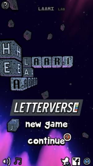 iPhone、iPadアプリ「Letterverse」のスクリーンショット 5枚目