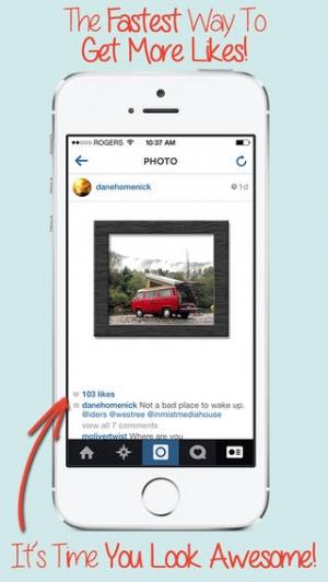 iPhone、iPadアプリ「Cool Frames & Picture Effects Free - あなたの写真&写真を編集して、美しい&カラフルなフレームを追加!」のスクリーンショット 2枚目