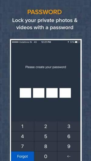 iPhone、iPadアプリ「フォト&ビデオロッカー - 写真を隠す、動画を隠す」のスクリーンショット 2枚目