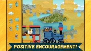 iPhone、iPadアプリ「子供向け列車ゲーム:動物園鉄道車両パズル」のスクリーンショット 4枚目