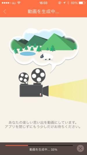 iPhone、iPadアプリ「動画編集はSlideStory - スライドショーとスライドムービー動画作成」のスクリーンショット 4枚目