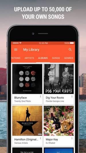 iPhone、iPadアプリ「Google Play Music」のスクリーンショット 4枚目