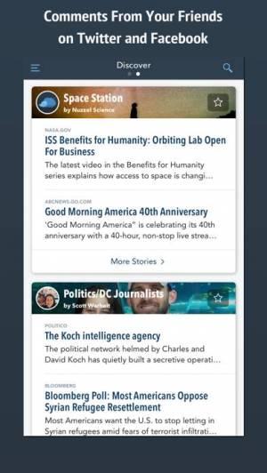iPhone、iPadアプリ「Nuzzel: News for Professionals」のスクリーンショット 2枚目