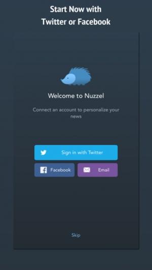 iPhone、iPadアプリ「Nuzzel: News for Professionals」のスクリーンショット 5枚目