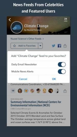 iPhone、iPadアプリ「Nuzzel: News for Professionals」のスクリーンショット 3枚目