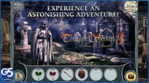 iPhone、iPadアプリ「Treasure Seekers 3: Follow the Ghosts, Collector's Edition (Full)」のスクリーンショット 1枚目