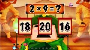 iPhone、iPadアプリ「算数忍者〜九九の巻〜子供向け学習アプリ」のスクリーンショット 3枚目