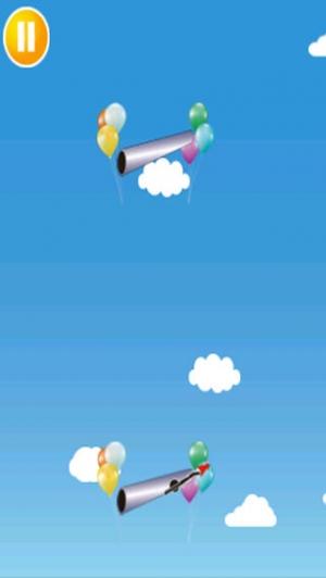 iPhone、iPadアプリ「棒人間の大車輪」のスクリーンショット 1枚目