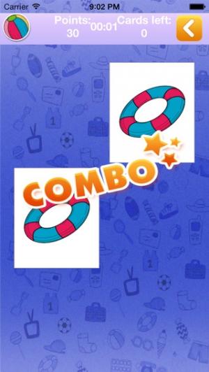 iPhone、iPadアプリ「メモリゲーム観光&玩具」のスクリーンショット 4枚目