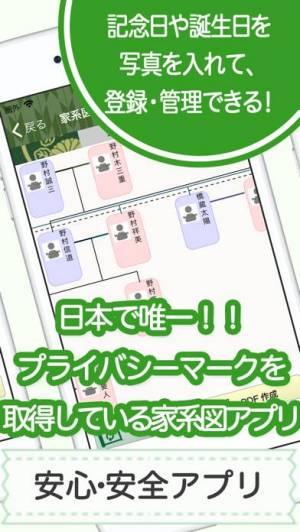 iPhone、iPadアプリ「家系図 by 名字由来net 日本No.1 100万人」のスクリーンショット 4枚目