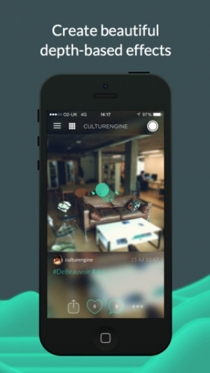 iPhone、iPadアプリ「Seene」のスクリーンショット 2枚目