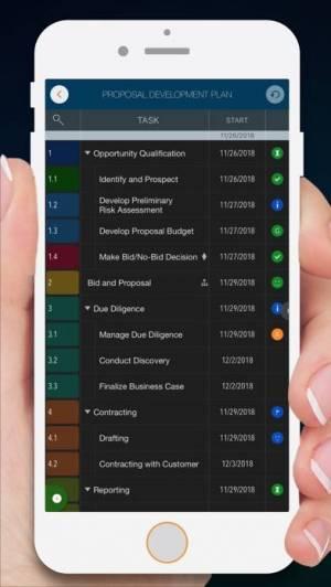 iPhone、iPadアプリ「QuickPlan - Project Gantt Plan」のスクリーンショット 2枚目