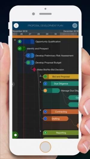 iPhone、iPadアプリ「QuickPlan - Project Gantt Plan」のスクリーンショット 1枚目