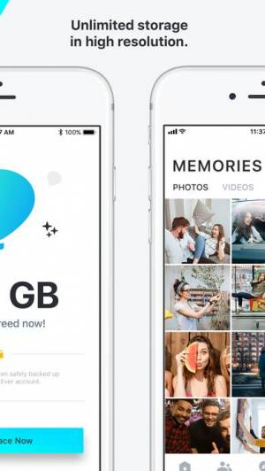 iPhone、iPadアプリ「Ever - Photo Backup & Storage」のスクリーンショット 2枚目