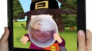 iPhone、iPadアプリ「The Little Witch at School」のスクリーンショット 5枚目