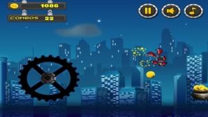 iPhone、iPadアプリ「ロボットスカイサーファーズ楽しい無料ゲームの攻撃」のスクリーンショット 3枚目