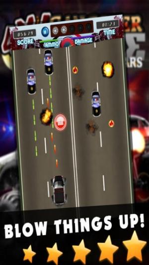 iPhone、iPadアプリ「4x4 マフィアレーサーカーレース - モンスタートラックゲーム - 無料 ゲーム」のスクリーンショット 2枚目