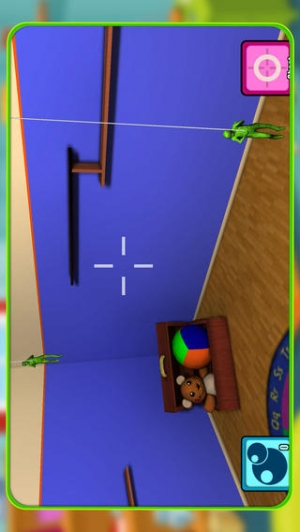 iPhone、iPadアプリ「グッズ 兵士 - Toy Soldiers - A Kids Play Soldier Story」のスクリーンショット 2枚目