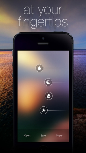 iPhone、iPadアプリ「Blurify - Create custom blurred iOS 7 style background wallpapers」のスクリーンショット 4枚目