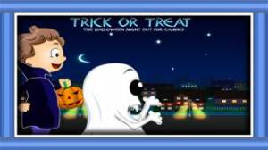iPhone、iPadアプリ「トリックオアトリート:ハロウィンの夜に外にキャンディーのために - 無料版」のスクリーンショット 1枚目