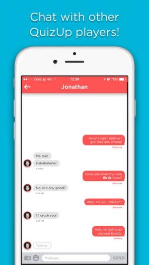 iPhone、iPadアプリ「QuizUp™」のスクリーンショット 4枚目