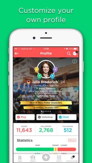 iPhone、iPadアプリ「QuizUp™」のスクリーンショット 3枚目