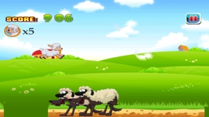 iPhone、iPadアプリ「小さなペット子羊の羊泥棒のエスケープおよび救助 : Tiny Pet Lamb's Sheep Thief Escape and Rescue」のスクリーンショット 2枚目