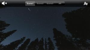 iPhone、iPadアプリ「AR流星群 Free」のスクリーンショット 1枚目