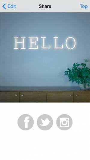 iPhone、iPadアプリ「NEON ME」のスクリーンショット 5枚目