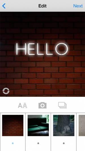 iPhone、iPadアプリ「NEON ME」のスクリーンショット 3枚目