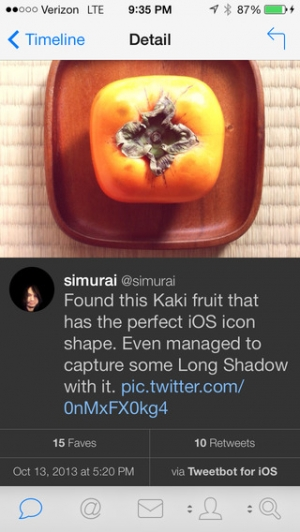 iPhone、iPadアプリ「Tweetbot 3 for Twitter. An elegant client for iPhone and iPod touch」のスクリーンショット 2枚目