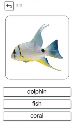 iPhone、iPadアプリ「学び、遊びます。米国英語(アメリカン) 無料 - 教育的なゲーム。発音と一緒に写真にあるテーマに関する言葉 - Learn and play. US English free」のスクリーンショット 3枚目