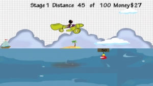 iPhone、iPadアプリ「Doodle Planes Landing: Super Hero Animals  - Fun Addictive Gliding Game (Best free kids games)」のスクリーンショット 2枚目