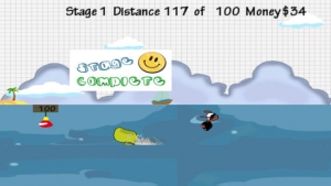 iPhone、iPadアプリ「Doodle Planes Landing: Super Hero Animals  - Fun Addictive Gliding Game (Best free kids games)」のスクリーンショット 3枚目