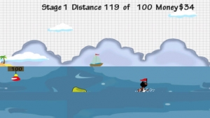 iPhone、iPadアプリ「Doodle Planes Landing: Super Hero Animals  - Fun Addictive Gliding Game (Best free kids games)」のスクリーンショット 4枚目