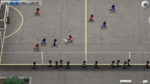 iPhone、iPadアプリ「Stickman Soccer」のスクリーンショット 3枚目