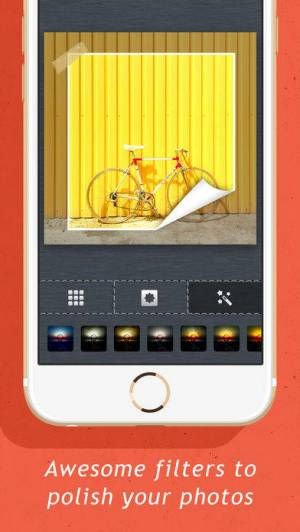 iPhone、iPadアプリ「Creative Frames - InstaFrame Photo Editor for Ins」のスクリーンショット 4枚目
