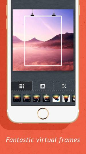 iPhone、iPadアプリ「Creative Frames - InstaFrame Photo Editor for Ins」のスクリーンショット 3枚目