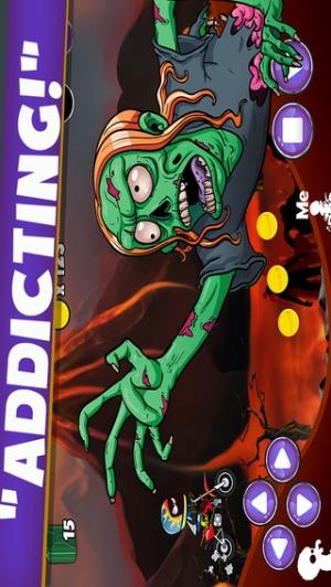 iPhone、iPadアプリ「DirtBike Stunt Race - Downhill Zombie Escape」のスクリーンショット 2枚目