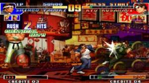 iPhone、iPadアプリ「THE KING OF FIGHTERS '97」のスクリーンショット 4枚目