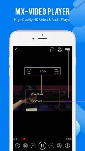 iPhone、iPadアプリ「MX Video Player」のスクリーンショット 3枚目