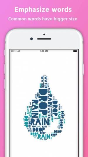 iPhone、iPadアプリ「WordPack: Word Cloud Generator」のスクリーンショット 2枚目