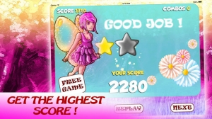 iPhone、iPadアプリ「ホタルの妖精 - フライング天使プリンセスおとぎ話 - Firefly Fairy – Flying Angel-Princess Fairytale」のスクリーンショット 2枚目